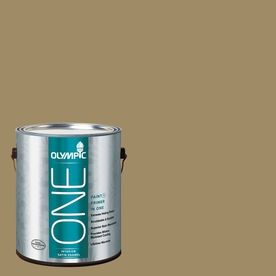 Olympic ONE 114 Fluid Ounce(S) Interior Satin Willow Tree Paint and Primer In One