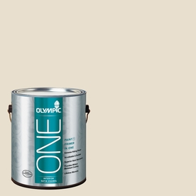 Olympic ONE 124 Fluid Ounce(S) Interior Satin Brandied Pears Paint and Primer In One
