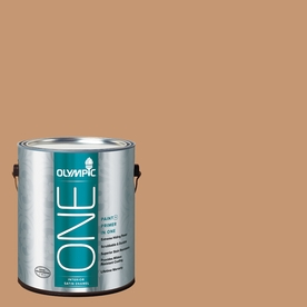 Olympic ONE Doeskin Satin Latex Interior Paint and Primer In One (Actual Net Contents: 116-fl oz)