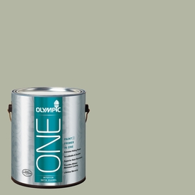 Olympic ONE Light Sage Satin Latex Interior Paint and Primer In One (Actual Net Contents: 124-fl oz)