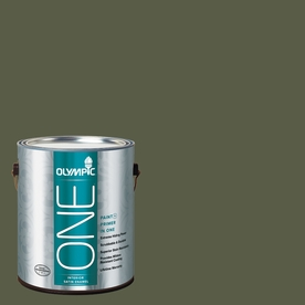 Olympic ONE Grape Leaves Satin Latex Interior Paint and Primer In One (Actual Net Contents: 114-fl oz)