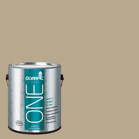 Olympic ONE Prairie Dust Satin Latex Interior Paint and Primer In One (Actual Net Contents: 116-fl oz)