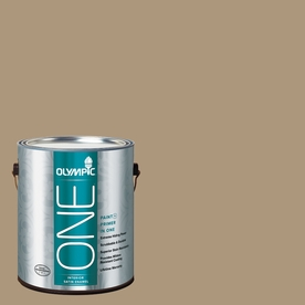 Olympic ONE Stony Creek Satin Latex Interior Paint and Primer In One (Actual Net Contents: 116-fl oz)