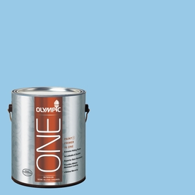 Olympic ONE Sweet Dreams Semi-Gloss Latex Interior Paint and Primer In One (Actual Net Contents: 124-fl oz)