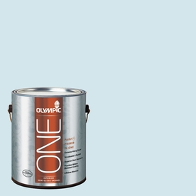 Olympic ONE Ocean Breeze Semi-Gloss Latex Interior Paint and Primer In One (Actual Net Contents: 124-fl oz)