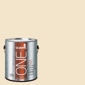 Olympic ONE Spice Delight Semi-Gloss Latex Interior Paint and Primer In One (Actual Net Contents: 124-fl oz)