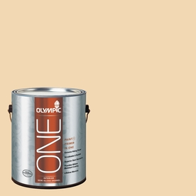 Olympic ONE Belgian Waffle Semi-Gloss Latex Interior Paint and Primer In One (Actual Net Contents: 124-fl oz)