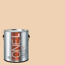 Olympic ONE Apple Crunch Semi-Gloss Latex Interior Paint and Primer In One (Actual Net Contents: 124-fl oz)
