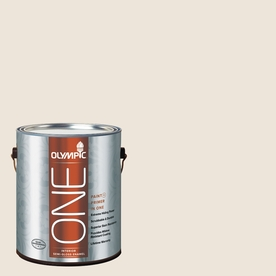 Olympic ONE Percale Semi-Gloss Latex Interior Paint and Primer In One (Actual Net Contents: 124-fl oz)