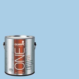 Olympic ONE Spa Semi-Gloss Latex Interior Paint and Primer In One (Actual Net Contents: 124-fl oz)