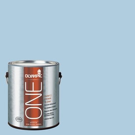 Olympic ONE Serenity Semi-Gloss Latex Interior Paint and Primer In One (Actual Net Contents: 124-fl oz)