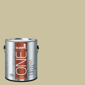 Olympic ONE Weeping Willow Semi-Gloss Latex Interior Paint and Primer In One (Actual Net Contents: 116-fl oz)