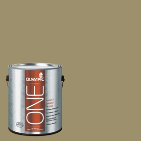 Olympic ONE Sweet Annie Semi-Gloss Latex Interior Paint and Primer In One (Actual Net Contents: 114-fl oz)