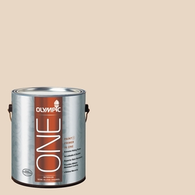 Olympic ONE Sandpiper Semi-Gloss Latex Interior Paint and Primer In One (Actual Net Contents: 124-fl oz)