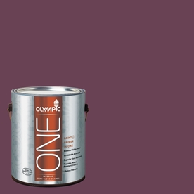 Olympic ONE Chilled Wine Semi-Gloss Latex Interior Paint and Primer In One (Actual Net Contents: 114-fl oz)