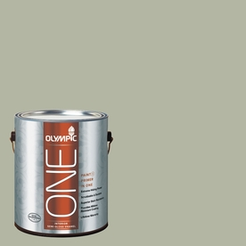 Olympic ONE 124 Fluid Ounce(S) Interior Semi-Gloss Light Sage Paint and Primer In One
