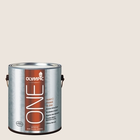Olympic ONE Country Beige Semi-Gloss Latex Interior Paint and Primer In One (Actual Net Contents: 124-fl oz)