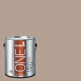 Olympic ONE BristlecONE Semi-Gloss Latex Interior Paint and Primer In One (Actual Net Contents: 124-fl oz)