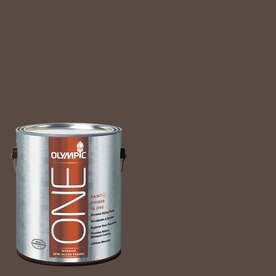 Olympic ONE Sarsaparilla Semi-Gloss Latex Interior Paint and Primer In One (Actual Net Contents: 114-fl oz)