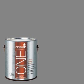 Olympic ONE 116 Fluid Ounce(S) Interior Semi-Gloss Dover Gray Paint and Primer In One