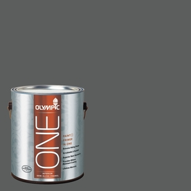 Olympic ONE Knight's Armor Semi-Gloss Latex Interior Paint and Primer In One (Actual Net Contents: 114-fl oz)