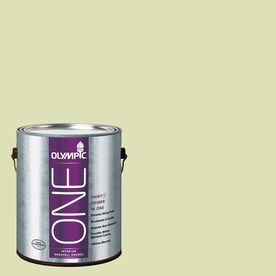Olympic ONE Aloe Vera Eggshell Latex Interior Paint and Primer In One (Actual Net Contents: 124-fl oz)