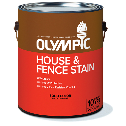 olympic house fence waterproof stain sealer from lowes