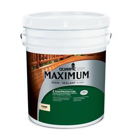 Olympic Maximum Honey Gold Toner Exterior Stain (Actual Net Contents: 640-fl oz)