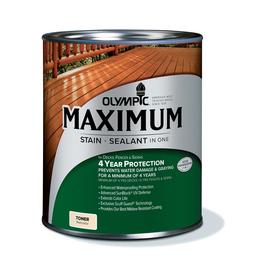 Olympic Maximum Cedar Naturaltone Toner Exterior Stain (Actual Net Contents: 32-fl oz)