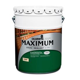 Olympic Maximum Cedar Naturaltone Semi-Transparent Exterior Stain (Actual Net Contents: 640-fl oz)