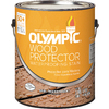 Olympic Wood Protector Must Be Tinted Semi-Transparent Exterior Stain (Actual Net Contents: 120-fl oz)