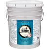 Olympic Home White Satin Latex Interior Paint (Actual Net Contents: 619-fl oz)