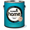 Olympic Home™ Gallon Size Container Interior Satin Tintable White Latex-Base Paint (Actual Net Contents: 116-fl oz)