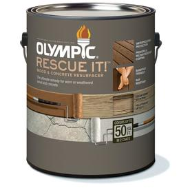 Shop Olympic Rescue It Tintable Base 2 Restoration Textured Solid Exterior Stain Actual Net