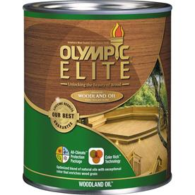 shop olympic elite mountain cedar semi transparent
