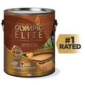 shop olympic elite tintable base 1 solid exterior stain