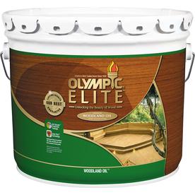 Olympic Elite Natural Toner Exterior Stain (Actual Net Contents: 384-fl oz)
