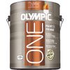 Olympic One Base 3 Latex Exterior Paint (Actual Net Contents: 116 Fluid Oz.)