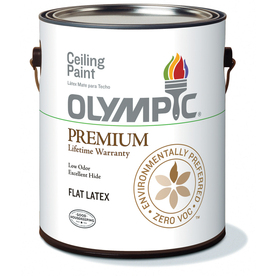 Olympic Ceiling White Latex Interior Paint (Actual Net Contents: 124-fl oz)