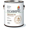 Olympic Gallon Interior Soft-Gloss Ceiling White Paint