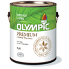 Olympic White Flat Latex Interior Paint (Actual Net Contents: 124-fl oz)