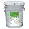 Olympic White Flat Latex Interior Paint (Actual Net Contents: 619-fl oz)