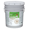Olympic 5-Gallon Interior Satin White Paint