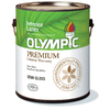 Olympic Gallon Interior Semi-Gloss Ultra White Paint