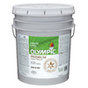Olympic 5-Gallon Interior Semi-Gloss Ultra White Paint
