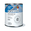 Olympic Gallon Exterior Satin White Paint