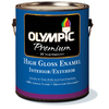 Olympic Gallon Interior/Exterior High-Gloss White Paint