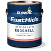 FastHide 1-Gallon Interior Eggshell White Latex-Base Paint