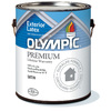 Olympic White Satin Latex Exterior Paint (Actual Net Contents: 29-fl oz)