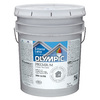 Olympic 5-Gallon Exterior Semi-Gloss White Paint